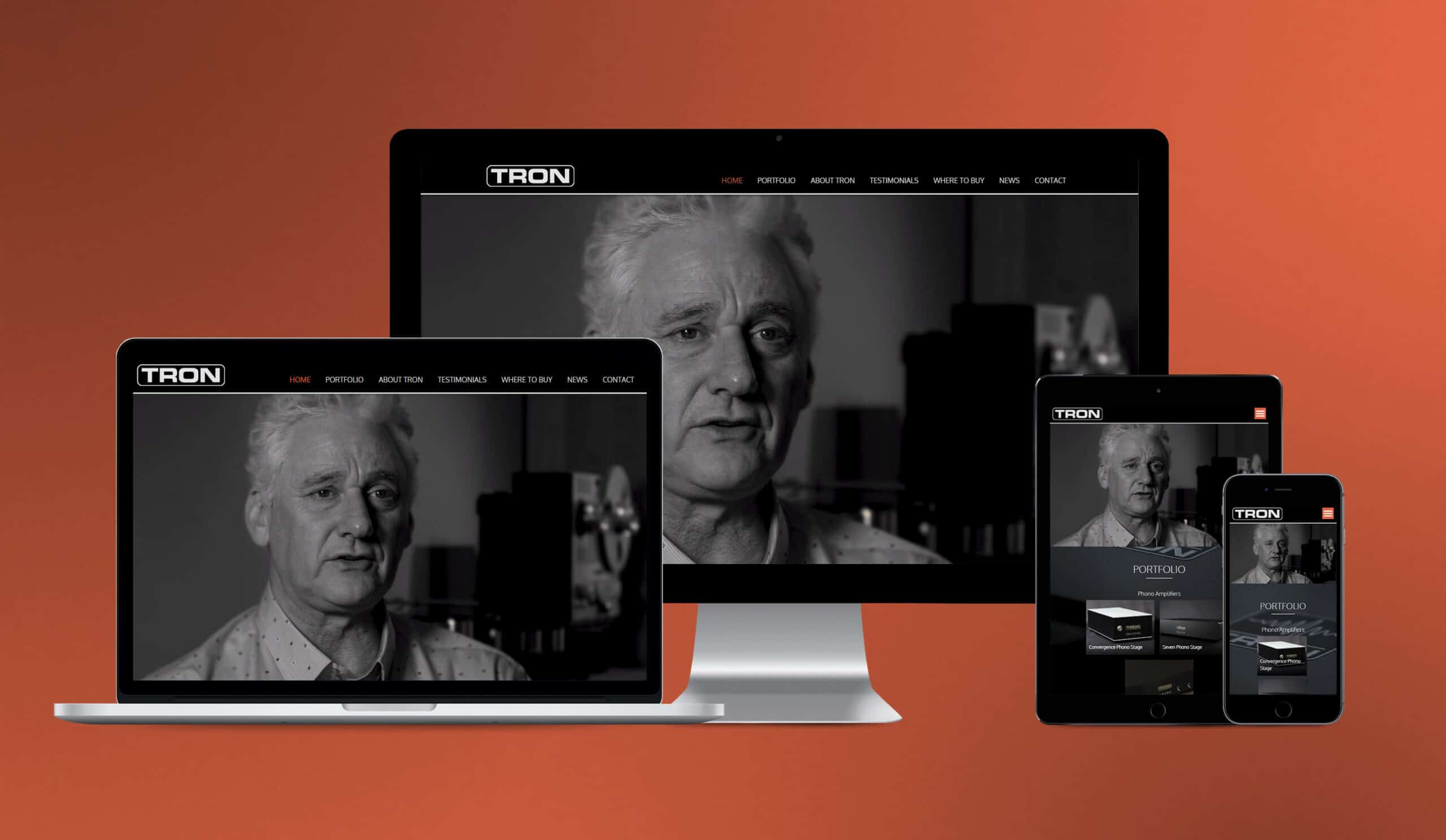 Tron Electric website