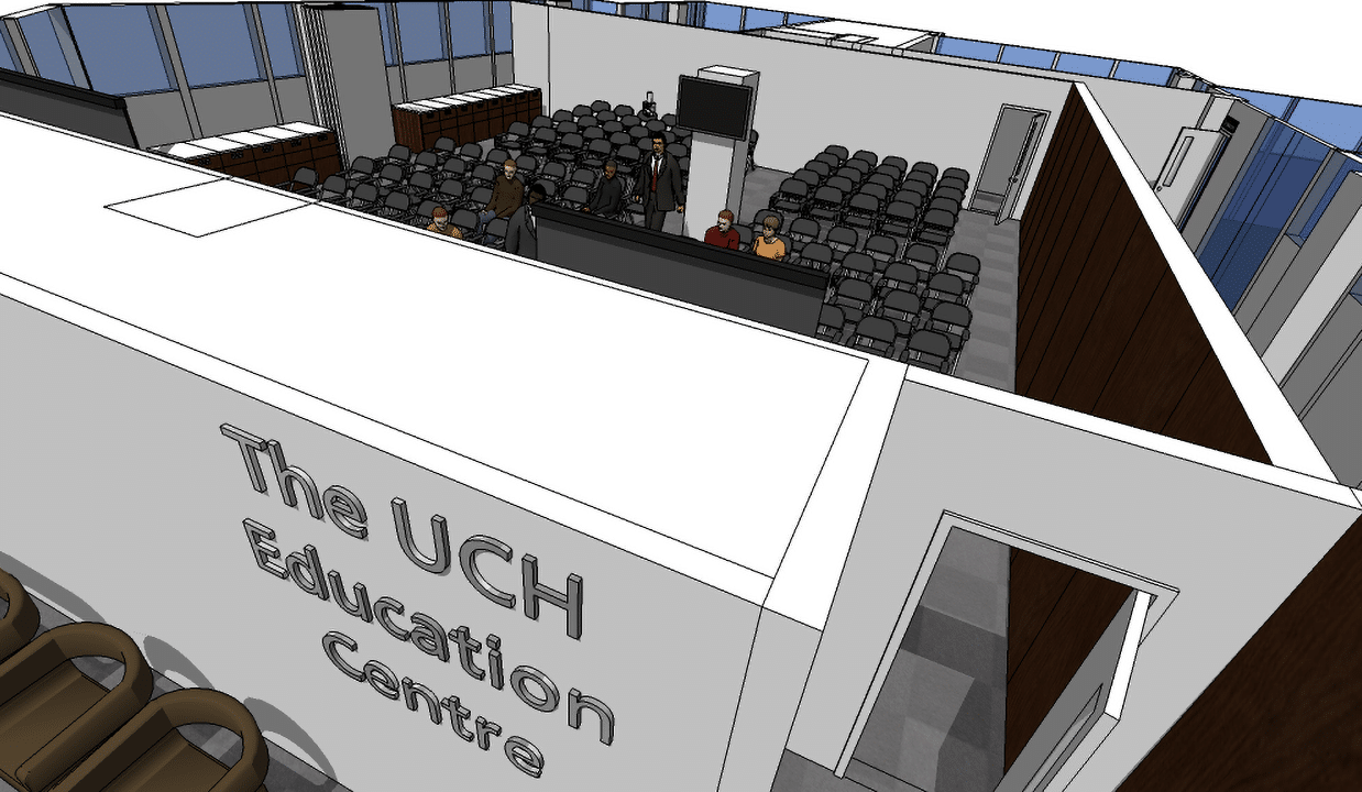 UCH Education Centre First Floor 3d Still