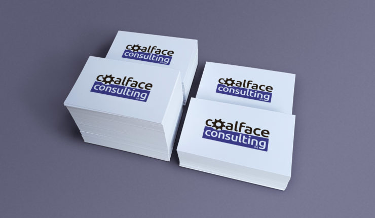 Coalface Consulting Business Cards