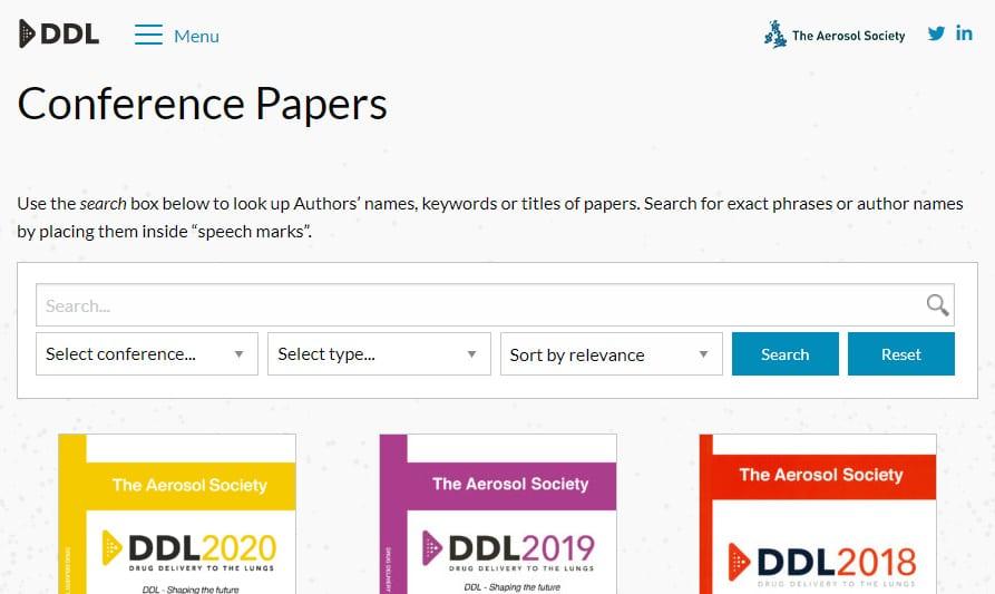 ddl conference paper archive medium