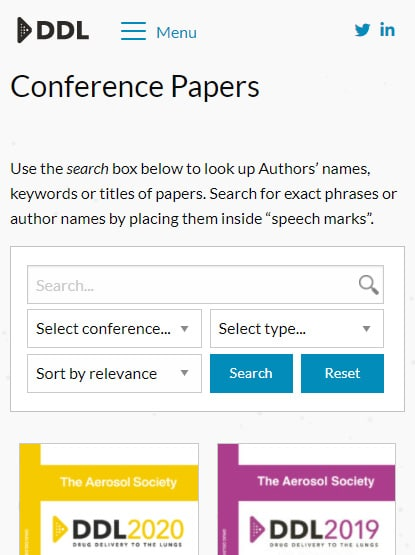 ddl conference paper archive mobile