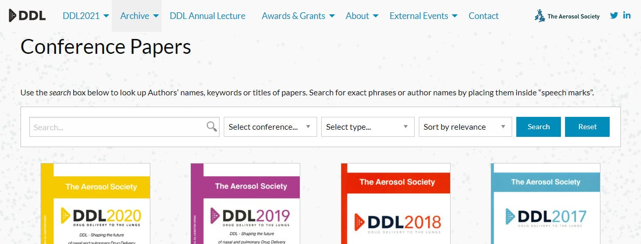 ddl conference paper archive widescreen